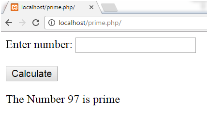 PHP Prime number 3