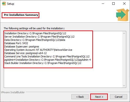 installing postgreSQL on windows