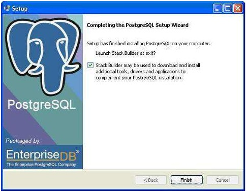 installing postgreSQL on windows