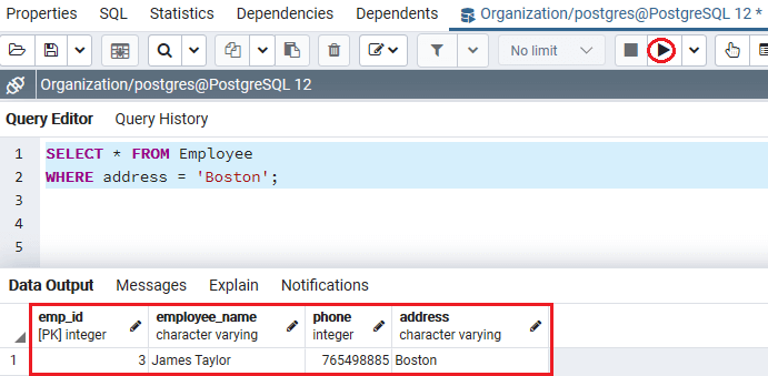 PostgreSQL Drop Index