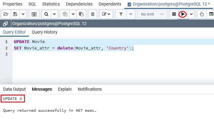 PostgreSQL hstore