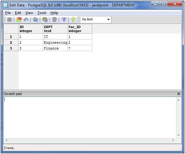 PostgreSQL left join3