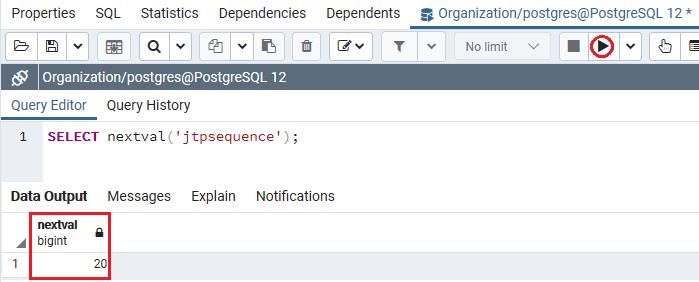 PostgreSQL Sequence