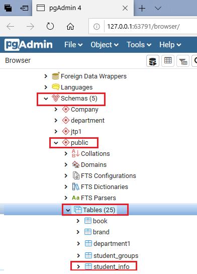 PostgreSQL TRUNCATE TABLE