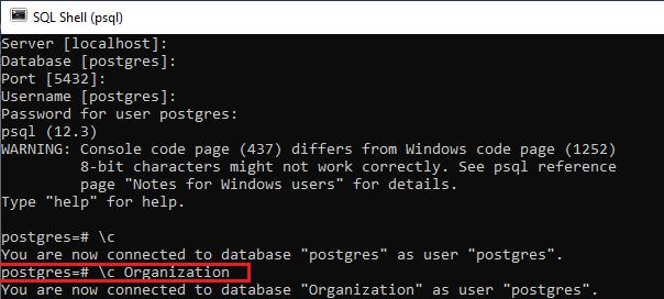 PostgreSQL User-Defined data type