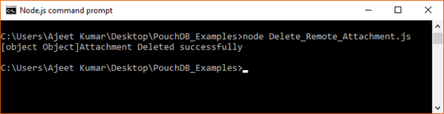 PouchDB Delete attachent 6