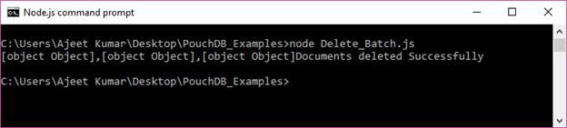 PouchDB Delete batch 2