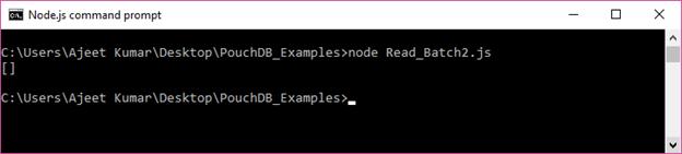 PouchDB Delete batch 3