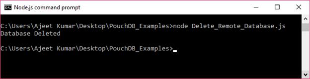 PouchDB Delete database 3