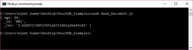 PouchDB Delete document 1