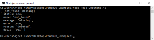 PouchDB Delete document 3