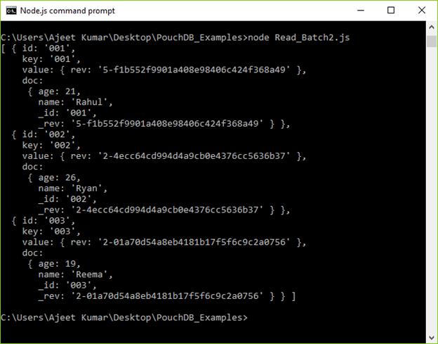 PouchDB Update batch 2