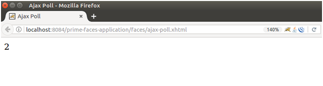 PrimeFaces Poll 2