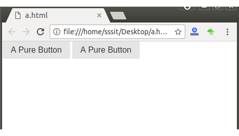 PureCSS Buttons 1