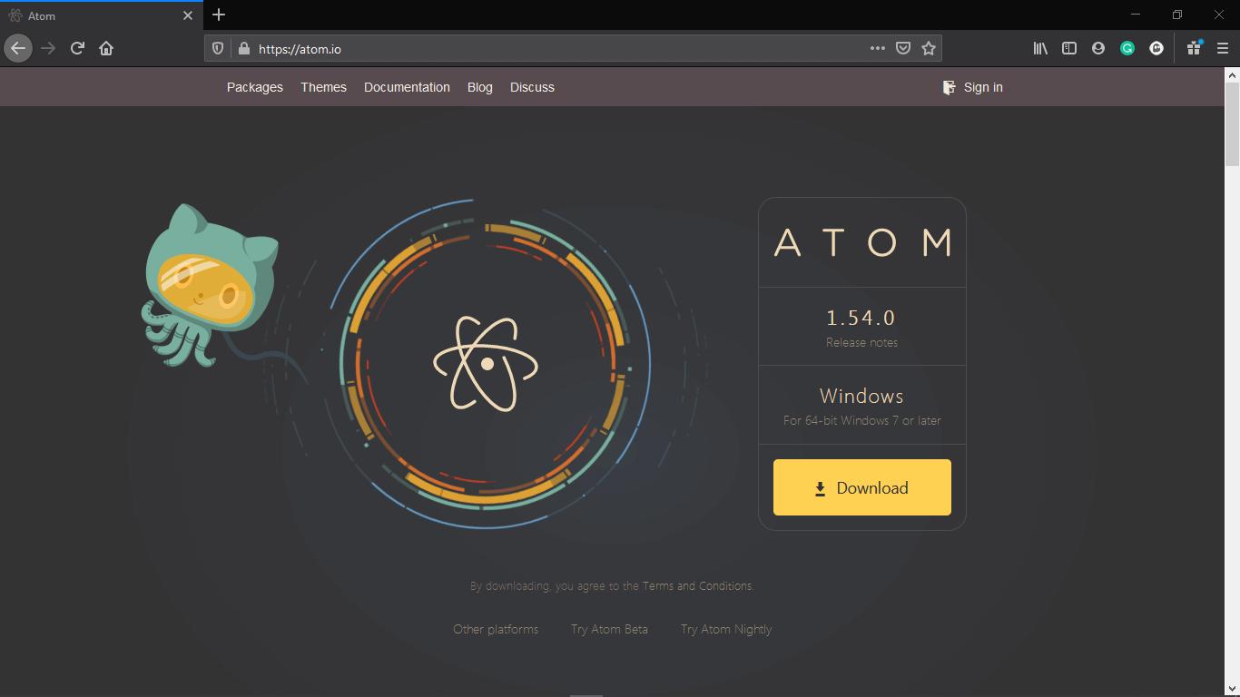 Atom Python