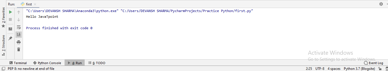 How to run Python Program