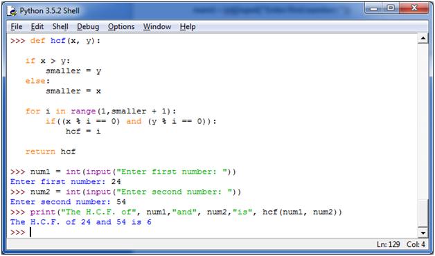 Python Function Programs2