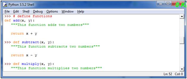 Python Function Programs5