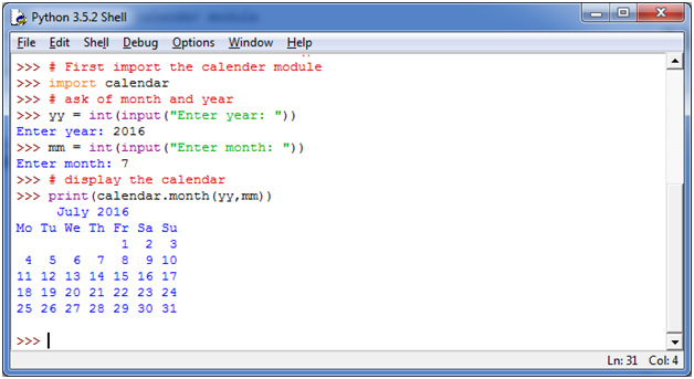 Python Function Programs7
