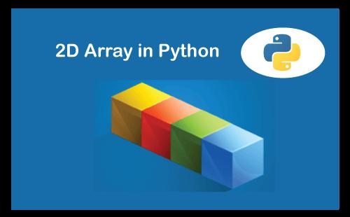Python 2D array