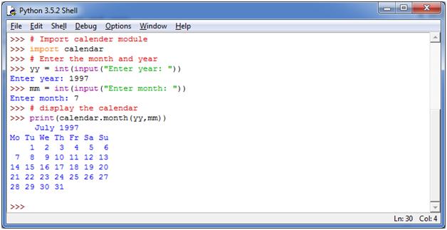 Python Basic Programs10