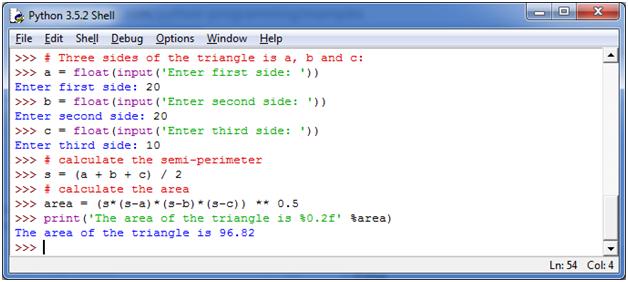Python Basic Programs3