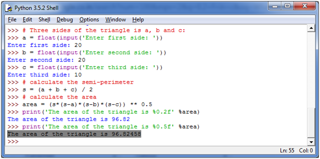 Python Basic Programs4