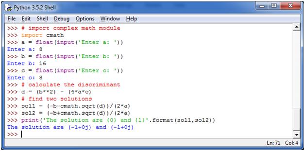 Python Basic Programs5