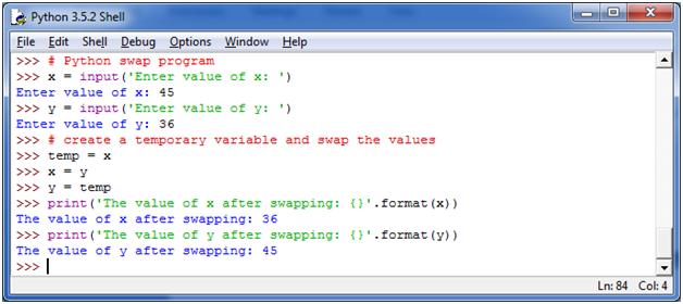 Python Basic Programs6