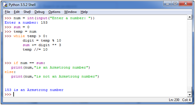 Python Check Armstrong Number - javatpoint