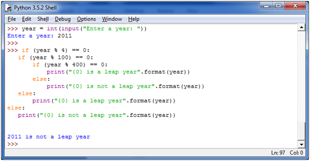 Python Check Leap Year - javatpoint