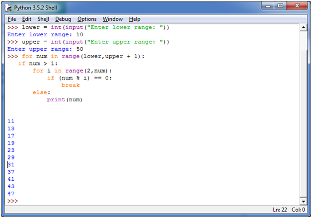 prime number program in c# using while loop