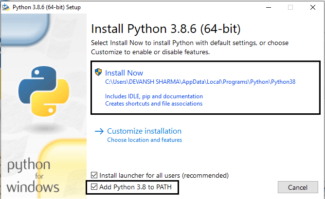 Python Environment Set-up