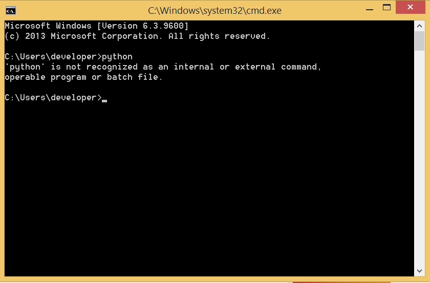 Python Environment Set-up