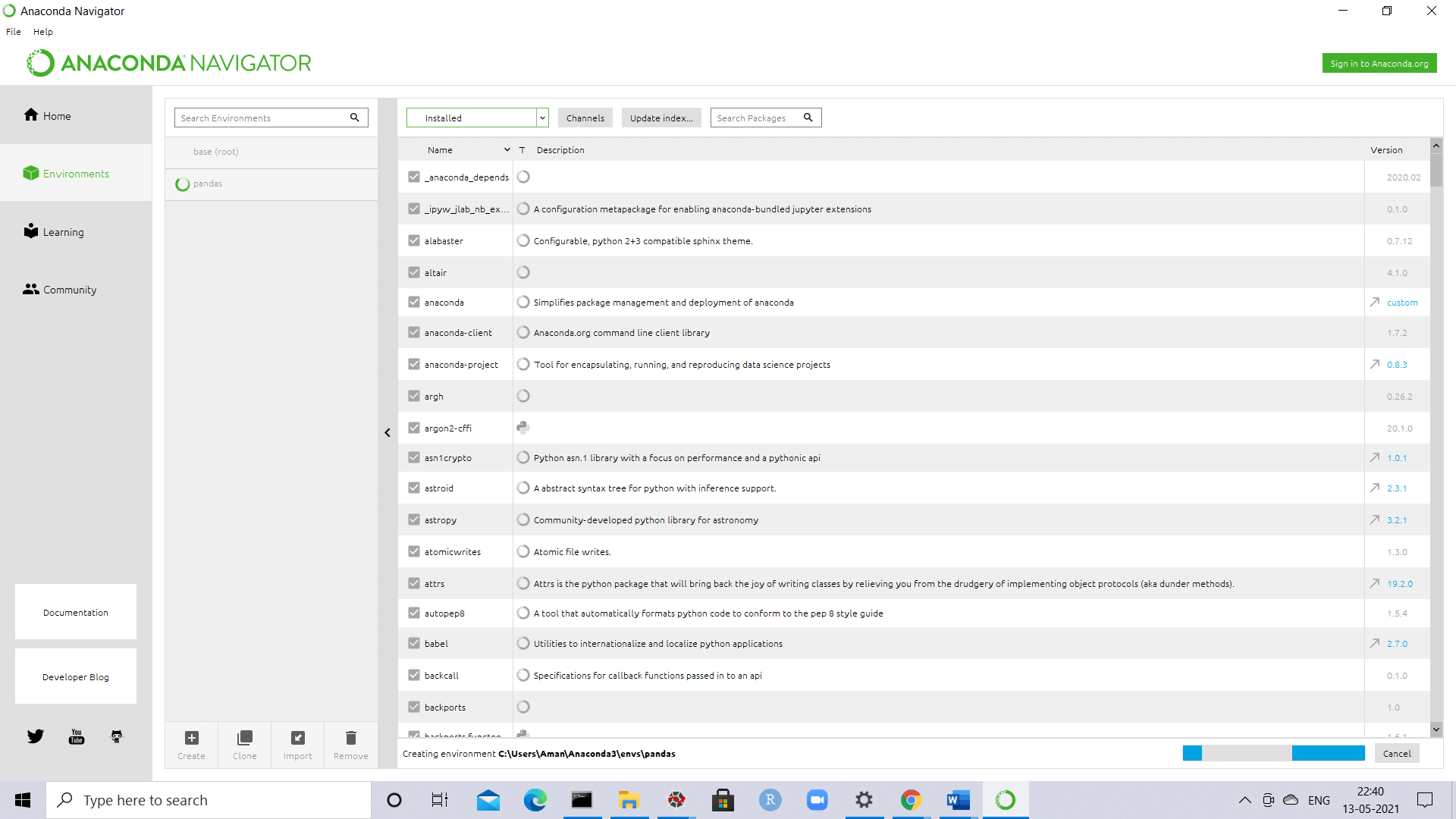 Wordcloud Package in Python