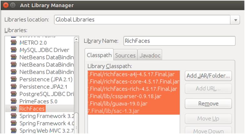RichFaces Configuration 4