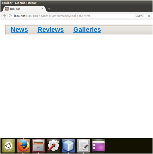 RichFaces Toolbar 1