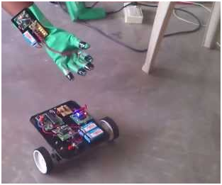 Hand Gesture Controlled Robot5