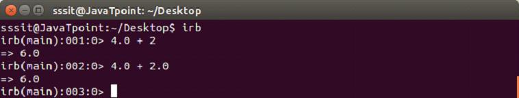 Ruby Data types 2