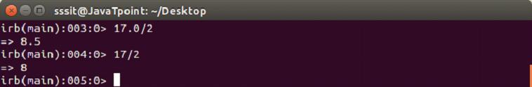 Ruby Data types 3