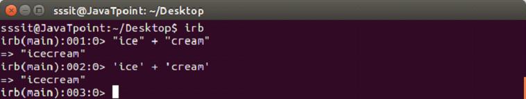 Ruby Data types 4