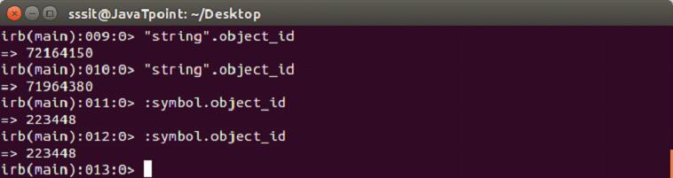 Ruby Data types 6