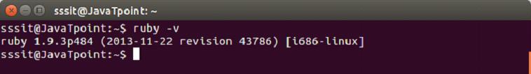Ruby installation 2
