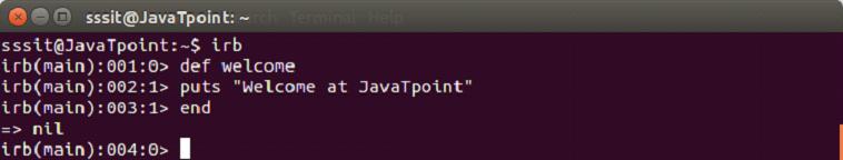 Ruby method 1