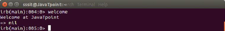 Ruby method 2