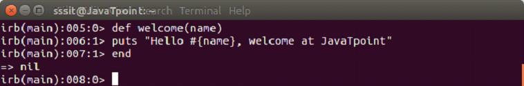 Ruby method 3