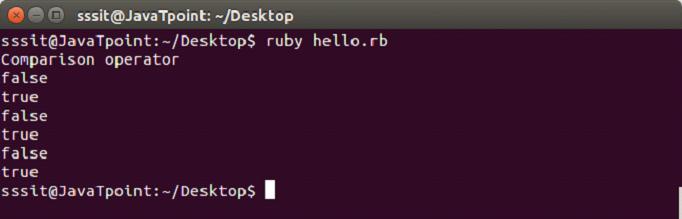 Ruby operators 4