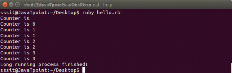 Ruby Thread 1