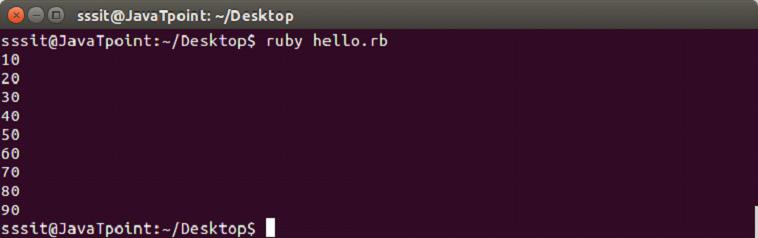 Ruby until loop 1