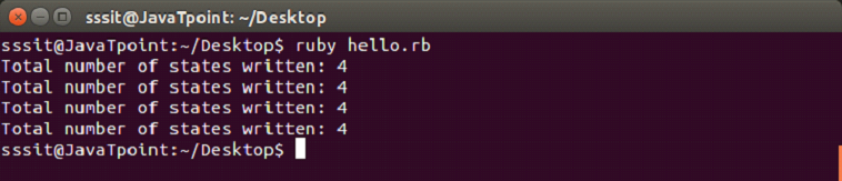 Ruby variables 1